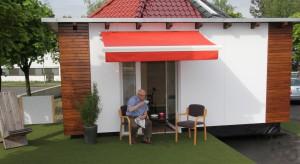 Wird der smart addy um eine Terrasse ergänzt, entsteht ein ganz wundervoller Ort, um Gesellschaft zu genießen.